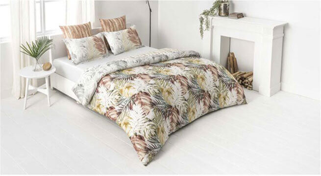 Floral Bed Cover