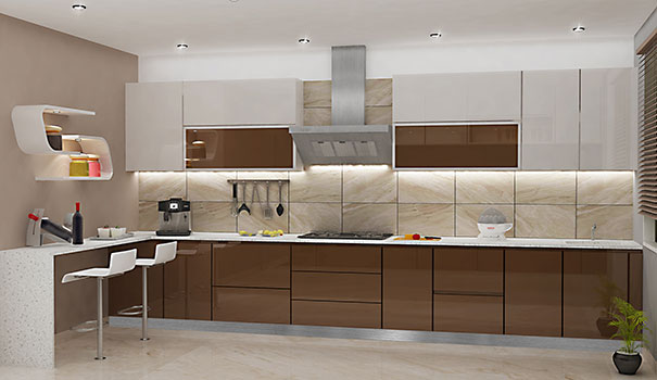 Acrylic Kitchen Cabinets The Latest Indian Kitchen