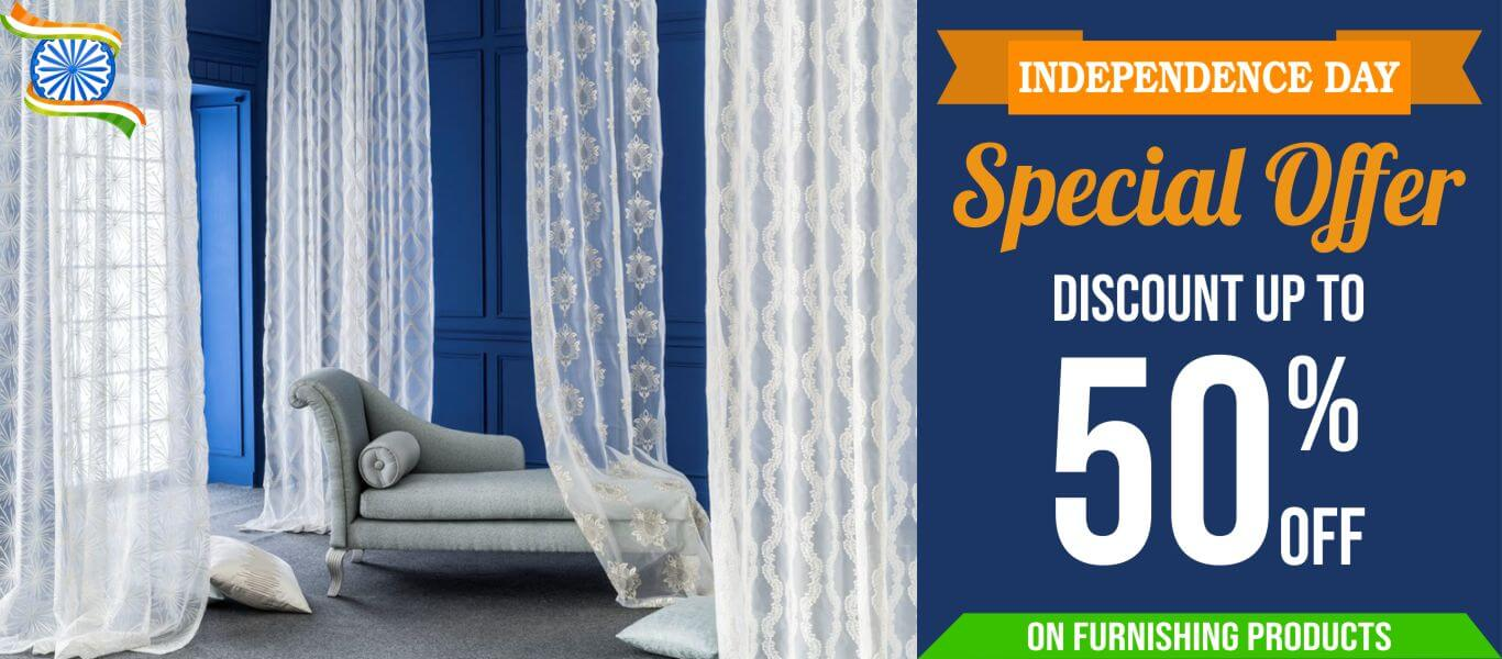 independent day offers on curtains