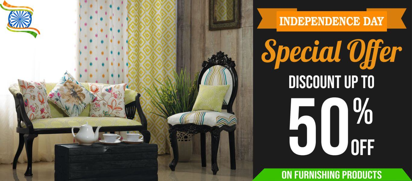 independent day offers on furnishings fabrics