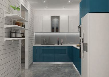 lshape modular kitchen design