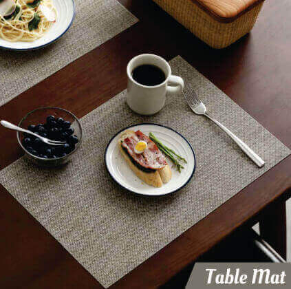 Grey Table Mat - 34265